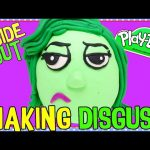 The Making of DISGUST Play Doh Surprise Egg! DIY Disney Pixar Inside Out Movie Toy Characters