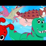 My toy Dinosaurs (+1 hour My Magic Pet Morphle episodes with motorbikes and vehicles)