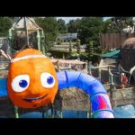Pirates Water Park for kids with sliders . Funny Video 2016.