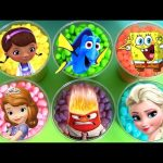 Disney Jelly Bean Surprise Princess Sofia Mermaid Elsa Ariel Anna SpongeBob Peppa Pig Mashems Toys