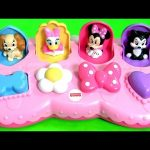 Disney Baby Minnie Mouse Pop Up Toys Surprise Pals with Daisy Duck Minnie's BowTique Bow Toons