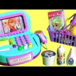 NEW Disney Frozen Cash Register Toy with Lights n' Sounds & Surprise Cashier Toys for Girls 。◕‿◕。