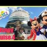 Disney Cruise Fantasy Family Fun Vacation Part 4 Egg Surprises Candy Kids Video Beach Day
