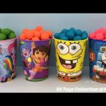 Little Playdough Balls Surprise Cups Num Noms Minions Zelda Surprise Ball Marvel Avengers Mini Figz