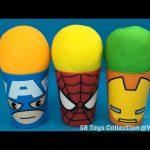 Captain America Spider Man Iron Man Surprise Cups Teenage Mutant Ninja Turtles Buzz Lightyear Toys