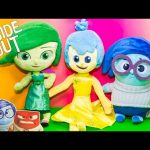 INSIDE OUT Disney Pixar Inside Out Plush Joy + Sadness + Disgust Inside Out Video Toy Review