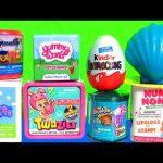 TOYS SURPRISE Splashlings Shell TWOZIES Baby Yummy World NUM NOMS 2 Peppa Pig Mashems Shopkins Tales
