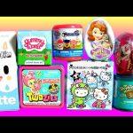 TOYS SURPRISE Yummy World Twozies Tokidoki Hello Kitty Frenzies Moofia Frozen Toilet Candy Tales