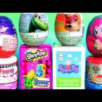 Kids Toys Surprise Paw Patrol Peppa Pig Pinkie Pie My Little Pony Hello Kitty Fashems 。◕‿◕。