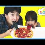 GUMMY JOKER TONGUE Viper Tongue Gummy Pizza Marvel Egg Surprise Toy Candy Review Ryan ToysReview