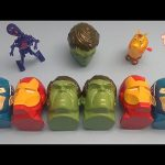 "Marvel Avengers Surprise Egg Learn-A-Word! Spelling Words Starting With ""G""!  Lesson 5"