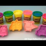 Play Doh Sparkle Compound Collection with Vehicle Cookie Cutters Fun and Creative