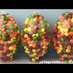 3 BIG Skittles Candy Surprise Eggs Justice League Batman Paw Patrol Kinder Zootopia Finding Dory Toy