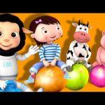 Hopping Song | Bounce Around! | Nursery Rhymes | Original Song By LittleBabyBum!