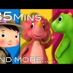 Dinosaur Song | Plus Lots More Nursery Rhymes | From LittleBabyBum!