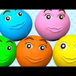 Ball Pit Show Finger Family Learn Colors Collection – Wheels On The Bus Nursery Rhymes Compilation