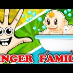 Baby Bath Time Finger Family Nursery Rhymes Compilation – Surprise Eggs Learn Colors Collection