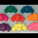 Glitter Play Dough Crabs with Interesting Molds Fun and Creative