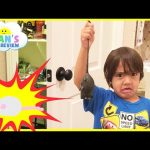 WE FOUND A MOUSE IN OUR PANTRY Ryan prank Daddy RC Rat Gummy Rat Candy EVERYDAY WITH RYAN TOYSREVIEW