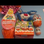 Kinder Surprise Egg Opening Party!  Opening HUGE GIANT JUMBO Kinder Surprise Eggs and More!