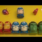 """Marvel Avengers Surprise Egg Learn-A-Word! Spelling Words Starting With """"D""""! Lesson 4"""
