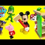 Mickey Mouse, Paw Patrol, PJ Masks, and Peppa Wooden Toys Slime Surprises