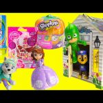 Paw Patrol, PJ Masks, Princess Sofia and Surprises in Melissa and Doug Wooden House