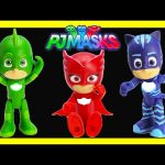 PJ Masks Superheroes Light Up Figures Catboy, Owlette, Gekko with Magical Surprises
