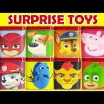 PJ Masks Paw Patrol Lion Guard and Peppa Surprises