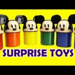 LEARN Colors with Mickey Mouse and Surprises