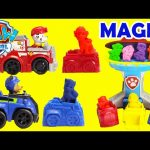 Paw Patrol Magic Play Doh and Surprises Shopkins Season 6