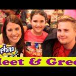DisneyCarToys Meet & Greet at Shopkins Swapkins New York Event! Biggest & Best YouTube Fans Ever!