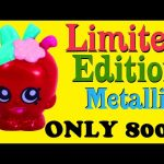 SHOPKINS Special Event New York Apple Blossom Shopkins Character LIMITED EDITION