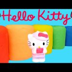 NEW Play Doh Hello Kitty Fash'ems Series 2 Surprise Eggs –  Opening Playdough Toy Egg Surprises