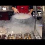 Visiting Sub Zero–Liquid Nitrogen Freezes Ice Cream!