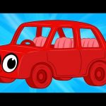 My Red Car Goes On A Trip (My Magic Pet Morphle kids videos compilation)