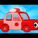 My Red Police Car – My Magic Pet Morphle Compilation with Police Vehicle Videos for Kids!