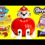 Paw Patrol Marshall Pumpkin Surprises and Candy