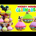 Mickey Mouse Club House Friends and Shopkins Cupcake Surprises