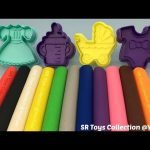 Fun Play and Learn Colours with Play Dough Modelling Clay Creative for Children