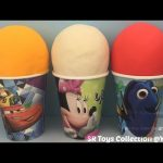 Play Doh Surprise Eggs Finding Dory Disney Frozen Marvel Avengers My Little Pony Hot Wheels Toys