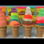 How to Make Play Doh Soft Serve Ice Cream with Molds Fun and Creative for Kids