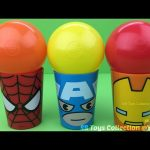 Spider Man Iron Man Surprise Cups with Toys Finding Dory Teenage Mutant Ninja Turtles Shopkins