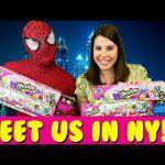 MEET DISNEYCARTOYS at Shopkins Swapkins New York City Meet & Greet Sandra & Spidey Toys R Us Party