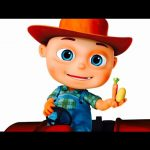 Five Little Babies Dressed As Farmers | Five Little Babies Collection | Zool Babies Fun Songs