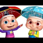 Five Little Babies Playing Out In The Rain | Five Little Babies Collection | Zool Babies Fun Songs