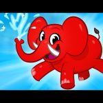 My Pet Elephant – (Learn how to clean with My Magic Pet Morphle) Animal Videos For Kids