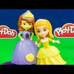 SOFIA THE FIRST Disney Play Doh Sofia the First Play-Doh a Disney Play Doh Video Toy Review
