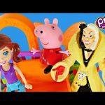 Polly Pocket Wall Party Pet Park with Cruella De Vil & Peppa Pig Toys DCTC Juguetes
