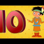 Ten Little Indians | Ten Little Indian Boys | Nursery Rhymes | Numbers Song